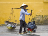 Street Vendor  Nha Trang City  Vietnam  Indochina  Southeast Asia