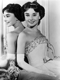 Love in the Afternoon  Audrey Hepburn  1957  Reflection