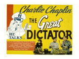 The Great Dictator  Paulette Goddard  Charles Chaplin  Jack Oakie  1940