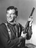 John Wayne in Costume for Stagecoach  1939