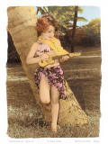 Hawaiian Ukulele Girl  Hawaii  USA