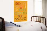 Orange Rainbow Alphabet