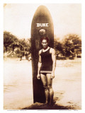 Young Duke Kahanamoku  Honolulu  Hawaii