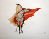 Marche de guerrier Reproduction d'art par Carol Grigg