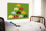 Green Counting Elephants