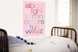 Pink Rainbow Alphabet