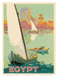 Egypt The Nile River c1930s