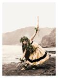 Pua with Sticks  Hawaiian Hula Dancer