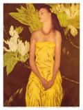 Meleana  Christmas Card from The Honolulu Star Bulletin  c1950