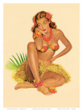 Hawaiian Pin-Up Girl  1949