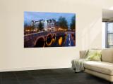 Holland  Amsterdam  Keizersgracht and Leidesegracht Canals