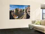 Belfort and River Dijver  Bruges  Flanders  Belgium