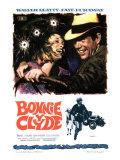 Bonnie and Clyde  Faye Dunaway  Warren Beatty  1967