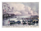 Mexican-American War  Landing of the American Forces under Gen Scott  at Vera Cruz  March 9  1847