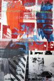 Night Shades & Urban Bourbons Reproduction d'art par Robert Rauschenberg