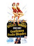 Gentlemen Prefer Blondes  Jane Russell  Marilyn Monroe  1953
