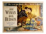 All That Heaven Allows  Rock Hudson Jane Wyman  1955