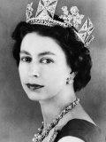 Queen Elizabeth II of England  Mid-1950s