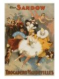 Sandow Trocadero Vaudevilles  Touring Stage Variety Show  Produced by Florenz Ziegfeld  1894