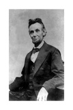 Abraham Lincoln Portrait Taken During Lincoln's Last Photography Sitting
