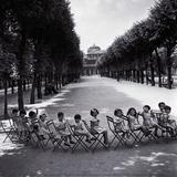 Children in the Palais-Royal Garden  c1950