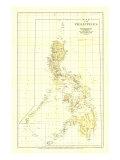 1905 Philippines Map