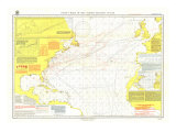 1903 Pilot Chart of the North Atlantic Ocean Map