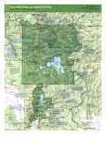 1989 Yellowstone and Grand Teton Map Side 1