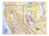 1966 Northern California Map