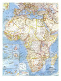1960 Africa Map