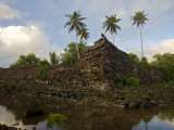 The ancient ruins of Nan Madol on Pohnpei Island