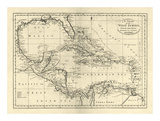 Chart of the West Indies  c1795