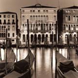 Il Gran Canale di Notte Reproduction d'art par Alan Blaustein