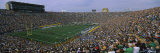 High Angle View of a Football Stadium Full of Spectators  Notre Dame Stadium  South Bend