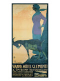 "Advertising Poster for ""Grand Hotel Clementi"" (S Caterina - Alta Valtellina)"