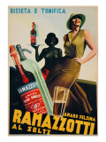 "Advertising Poster for ""Amaro Felsina Ramazzotti"""