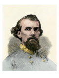 Confederate General Nathan Bedford Forrest in the Civil War