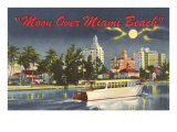 Moon over Miami Beach