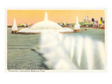 Fountain  Chicago World's Fair