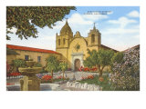 San Carlos Mission  Carmel  California