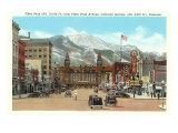 Pike's Peak  Colorado Springs  Colorado