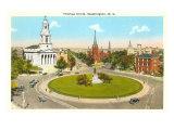 Thomas Circle  Washington DC
