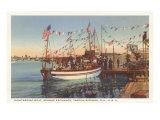 Boat  Sponge Exchange  Tarpon Springs  Florida