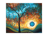 Aqua Burn Reproduction d'art par Megan Aroon Duncanson