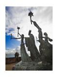 La Rogativa Sculpture  San Juan  Pr