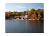 View of the Princeton Crew Boathouse  NJ