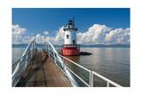 Tarrytown Lighthouse on the Hudson River