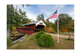 Covered Bridge Over The Swift River  Nh