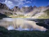 Acherito Lake in the Pyrenees Mountains  Spain