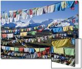 Prayer Flags  Himalayas  Tibet  China
